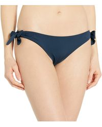 Seafolly - Loop Tie Side Hipster Bikini Pezzo sotto - Lyst