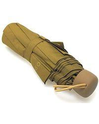 Benetton Praktischer mini Regenschirm von Benetton in braun