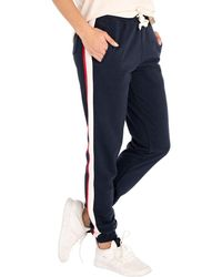 Rip Curl Frontside Track Jogging Trousers Medium Total Eclipse - Blue