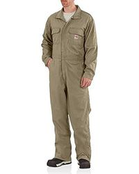 Carhartt Flame Resistant Deluxe Coverall - Natural