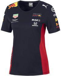 PUMA T-Shirt Red Bull Racing Team pour Night Sky XS - Bleu