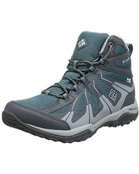Columbia Peakfreak Xcrsn Ii Xcel Mid Outdry High Rise Hiking Boots - Gray
