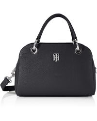 Tommy Hilfiger TH Essence Med Duffle - Noir