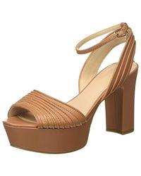 Footwear Dress SandalEscarpins Femme À Plateforme Marron kiXPZu