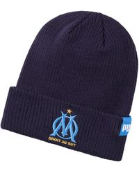 PUMA Bonnet Olympique Marseille Bronx Peacoat OSFA - Bleu
