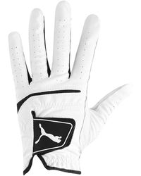 PUMA S Golf Gloves Breathability White S
