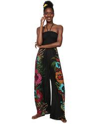 Desigual Dalila Casual Trousers - Black