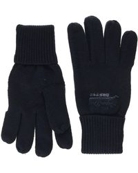Superdry Orange Label Glove - Blue