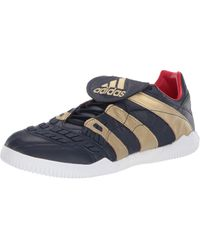 adidas Special Collections Predator Accelerator Training Zinedine Zidane Sneaker Gold Metallic/Gold Metallic/Core Black UK 11.5 - Blu