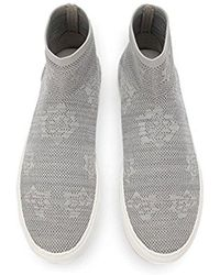 Kenneth Cole - Keating Stretch Knit High Top Sneaker - Lyst