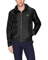 Lacoste Taffeta Light Coat, Bh6121 - Black