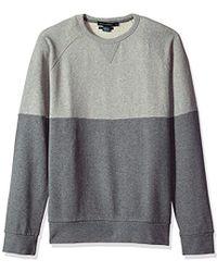 French Connection - Multi Melange Sweatshirt - Lyst