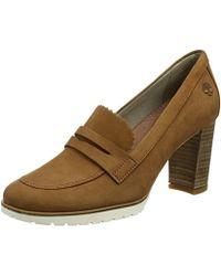 Timberland ''s Leslie Anne Mocassin Closed Toe Heels - Brown