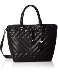 Michael Kors Mid Bucket Bag - Black