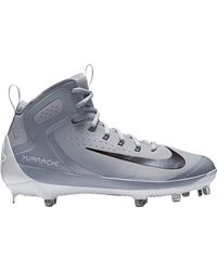 d2f63204ad144 Nike Synthetic Alpha Huarache Elite Mid Baseball Cleats Us in Red ...