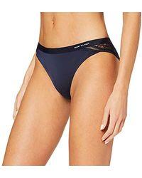Tommy Hilfiger Bikini Tanga para Mujer - Azul