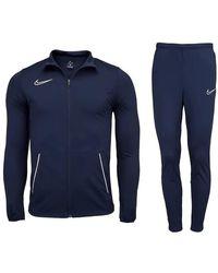Nike Dri-FIT Academy Blouson De Sport - Bleu