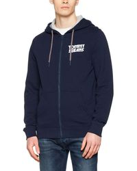 Tommy Hilfiger - Essential Graphic Zipthru Sweatshirt - Lyst
