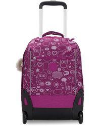Kipling Sari Luggage Statement - Violet