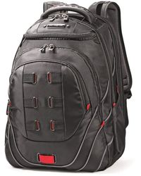 """Samsonite Tectonic 17"""""""" Pft Backpack Black/red"""