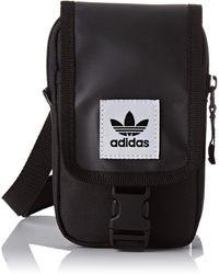 adidas _adult Map Crossbody Bag - Black