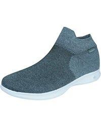 325bddd70706 Lyst - Skechers Women s Go Step Lite - Ultrasock 2.0 Casual Shoe in Gray