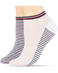 Tommy Hilfiger TH WOMEN RESORT SNEAKER 2P Socken - Weiß
