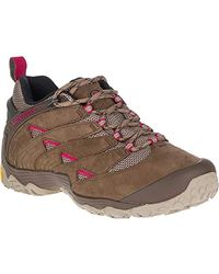 Merrell S/ladies Chameleon 7 Lightweight Breathable Hiking Shoes - Blue
