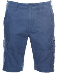Superdry Core Cargo Shorts - Blau