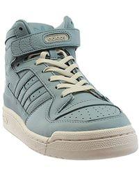 adidas Originals - Forum Mid Refined Fashion Sneaker - Lyst