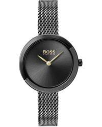 BOSS by Hugo Boss - Reloj Analógico para Mujer de Cuarzo con Correa en Acero Inoxidable 1502499 - Lyst