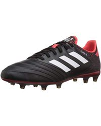 Copa 18.2 Firm Ground Soccer Shoe, Blackwhitereal Coral, 11 M Us