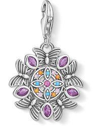 Thomas Sabo Amuleto Donna sterlina Zirconia_cubica - 1827-477-7 - Multicolore