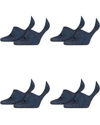 PUMA Chaussettes Footie Lot de 2 - Bleu
