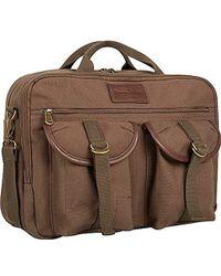 Tommy Bahama Briefcase Messenger Travel Bag - Green