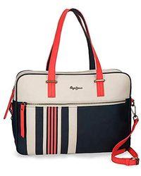 Pepe Jeans Laptop Handbag Cintia - Rojo
