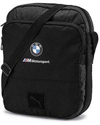 PUMA BMW Motorsport Portable Schultertasche Schwarz