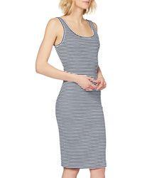 Tommy Hilfiger Tjw Rib Tank Bodycon Dress Vestito - Blu