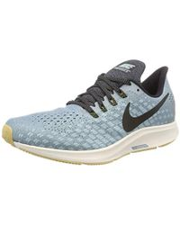 sports shoes 218d0 cafe8 Nike Air Zoom Pegasus 35 Running Shoes in Blue for Men ...