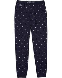 Lacoste 3h3446 Pyjama Bottom - Blue