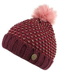 Regatta Great Outdoors Womensladies Lovella Hat Women's Beanie In Red
