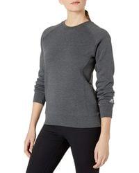 Russell Athletic 's V-notch Fleece Sweatshirt - Gray