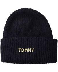 Tommy Hilfiger Strickmütze - Blau
