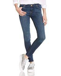 Lee Jeans Toxey Dark Deluxe Skinny Jeans Donna - Blu