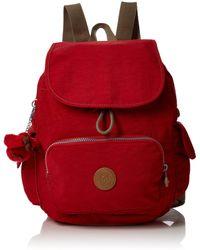 Kipling City Pack S Rucksack - Rot