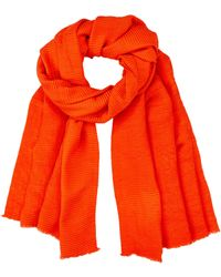 Dorothy Perkins Pleated Scarf - Red