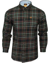 Superdry Heritage Lumberjack Shirt Haut - Vert