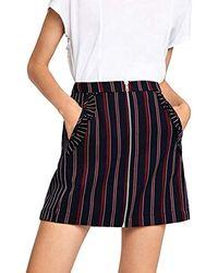 BCBGeneration Ruffle Pocket Skirt - Multicolor