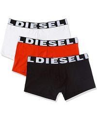 DIESEL - Boxers - Multicolore - Pack de 3 - Lyst