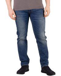 Levi's 511 Slim Fit – Jeans pour hommes à coupe ajustée avec stretch Bleu (Caspian Adapt 3406)